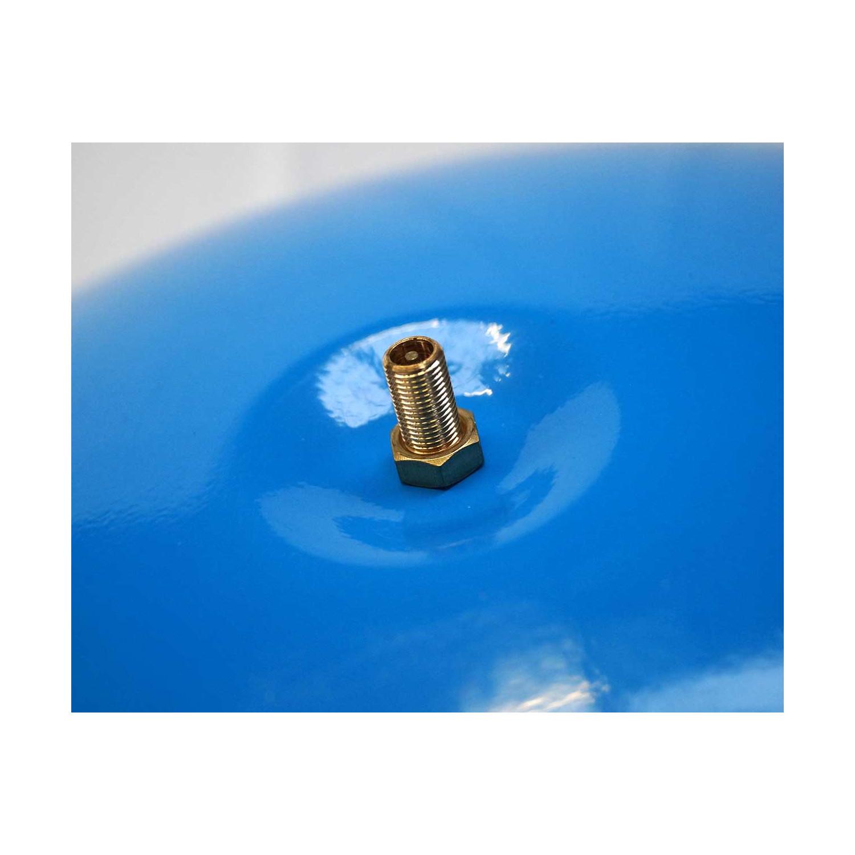 """KIT surpresseur réservoir horizontal 100 litres en 1"""" avec manomètre, vanne, pressostat et raccords galva"""
