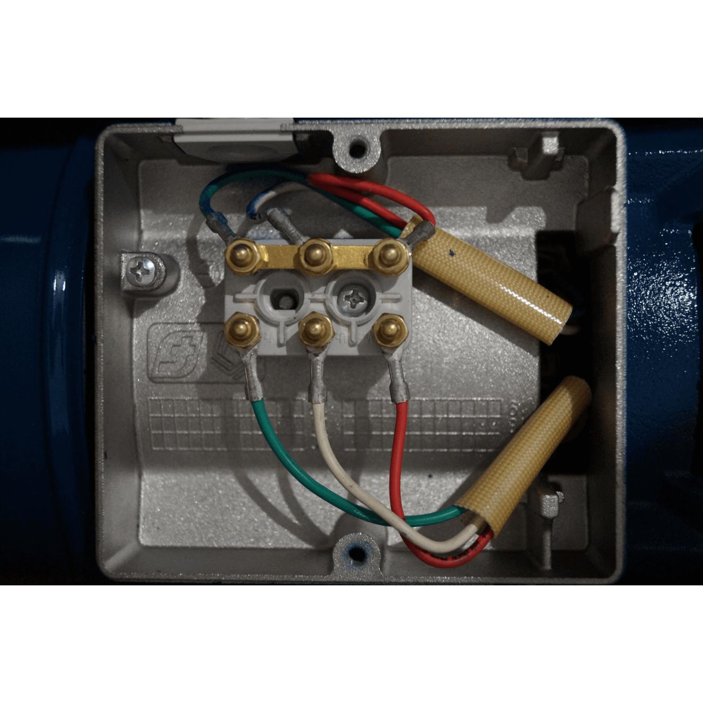 Pompe série JET 380V 0.75kW / 1cv avec disjoncteur magnéto thermique