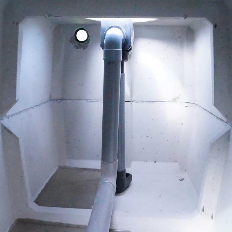 Réservoir Eau de pluie BETON 500L