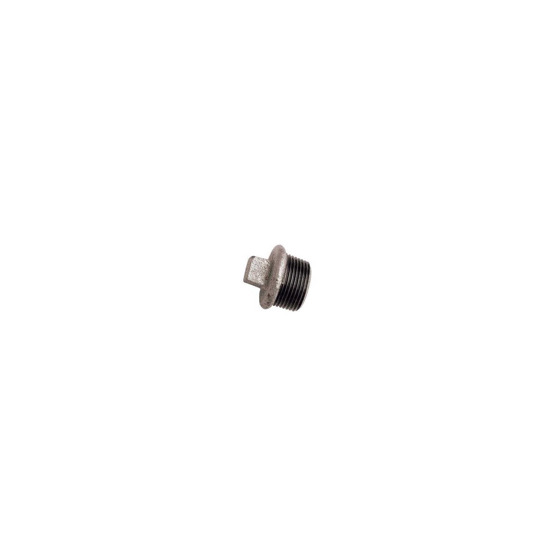 "BOUCHON GALVANISE MALE 3"""