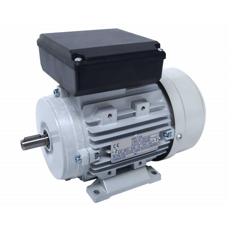Moteur electrique 220v monophasé 0.37kW, 1500 tr/min, B3