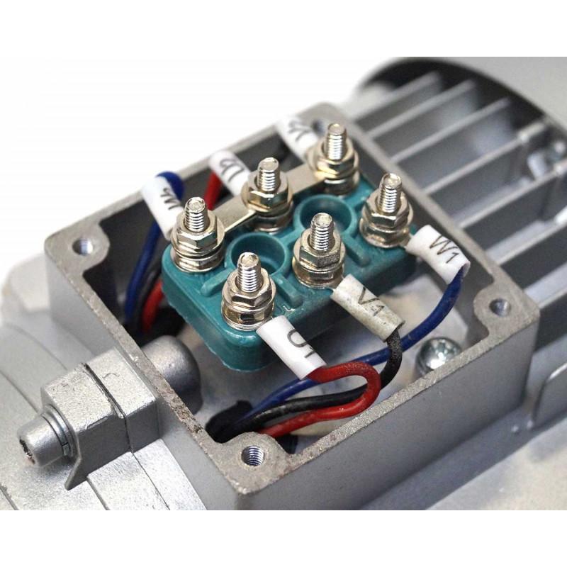 Moteur électrique 230V/400V 0.37Kw, 3000 tr/mn, B35
