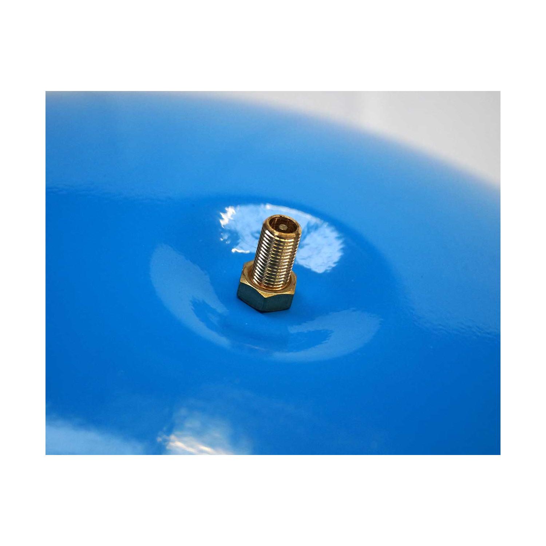 """KIT Reservoir vertical 500 litres-raccord 3 voies 1""""-clapet pied de crépine- manomètre-préssostat"""