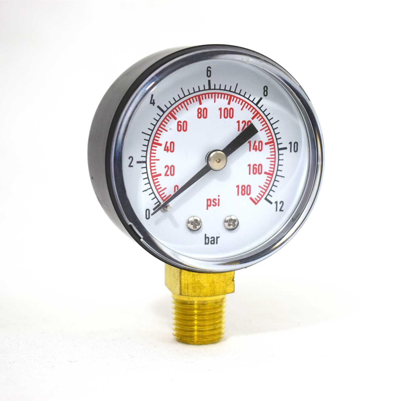 "Manomètre sec Radial 0 - 12 bars 1/4"" GAS"