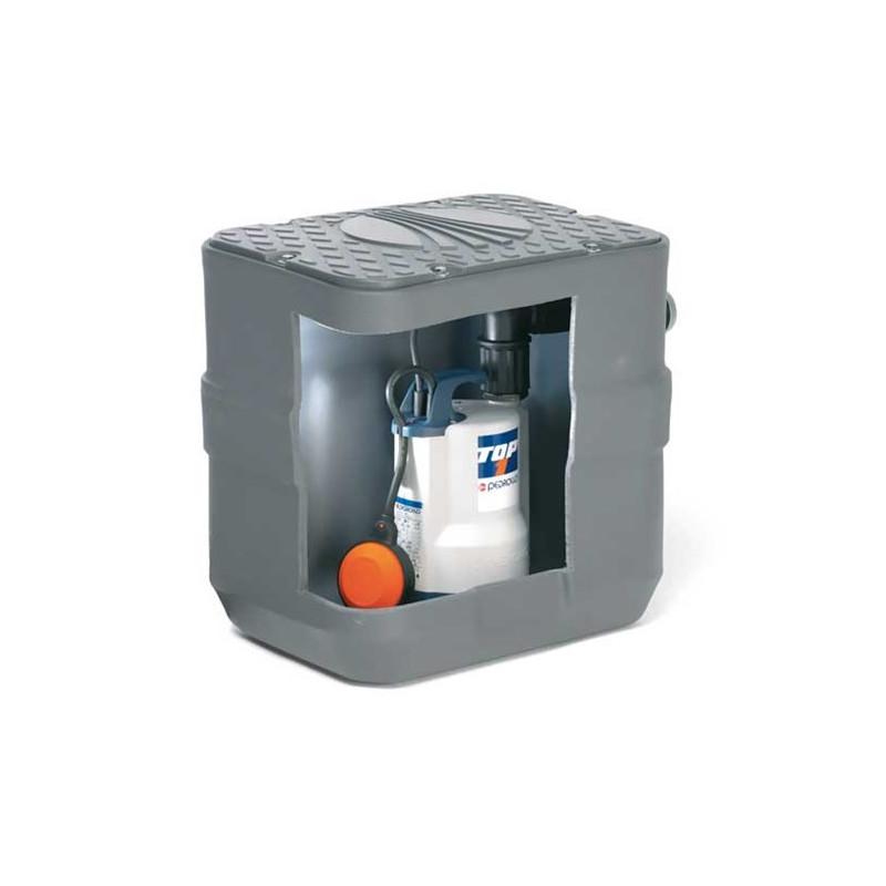 Station de relevage 40L - Pompe Inox 220V - 0.25kw